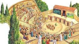 Teatro origen y evolución timeline