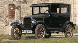 A Ford T-modell autó piacra kerülése timeline