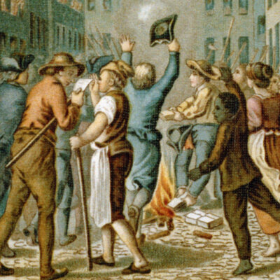 The American Revolution - Colonial Tensions timeline