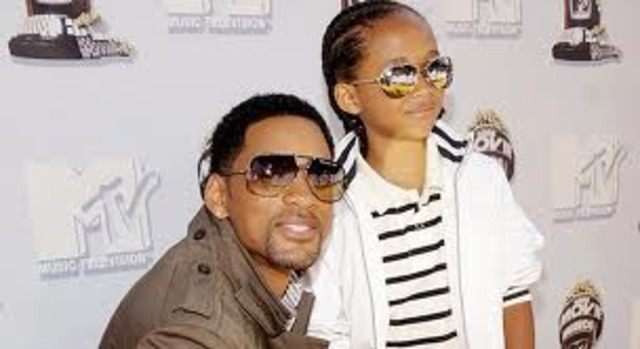 When Will and Jada got married she was already 2months pregnant with their now 13yr old son. Jaden was born July 8, 1998.