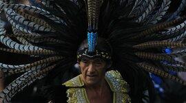 Las culturas en México. timeline