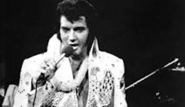Elvis' first hit