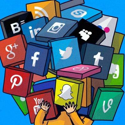 Historia de las redes sociales. timeline