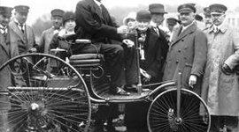 la evolucion de los carros timeline
