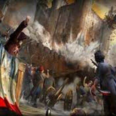 Revolución Industrial, Revolución francesa y sus influencias en los procesos de Independencia en América. timeline