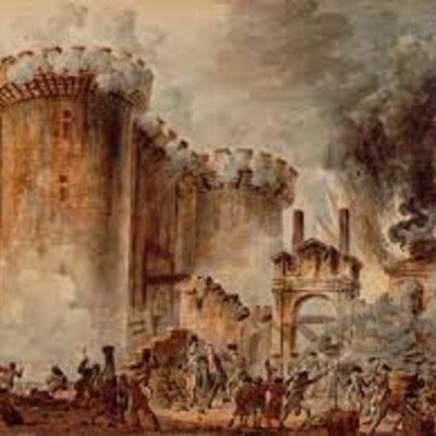 The Fall of Bastille  timeline