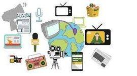 Evolución De Los Medios De Comunicación timeline
