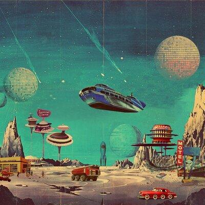 История развития научной фантастики timeline