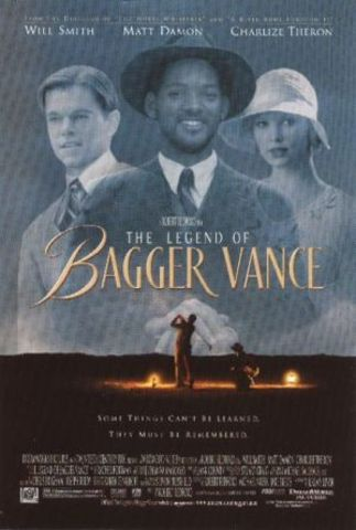 """Plays a mystical caddy in """" The Legend of Bagger Vance"""""""