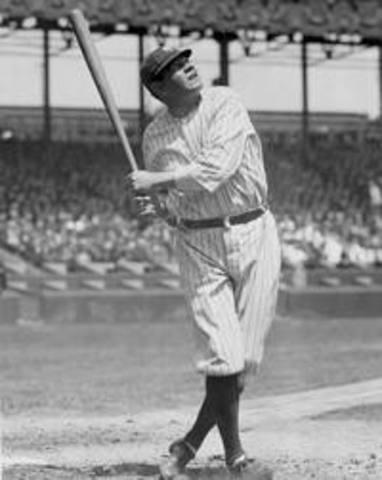 Famous baseball player