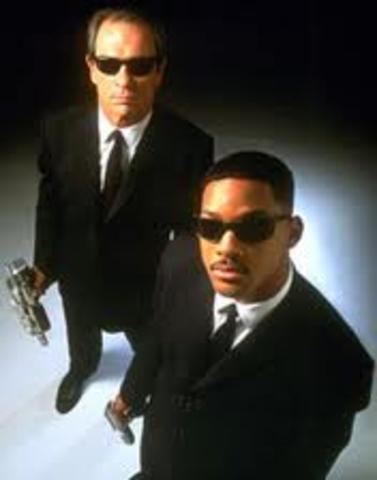 Stars in Men in Black with Tommy Lee Jones.