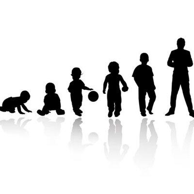 Etapas de desarrollo infantil y adolescencia  timeline