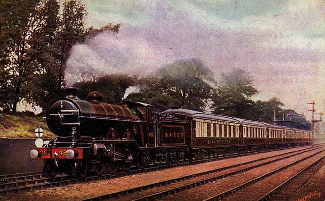 All-Pullman Super Chief Passenger Train Service