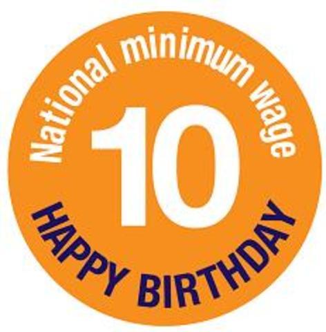 The National Minimum Wage