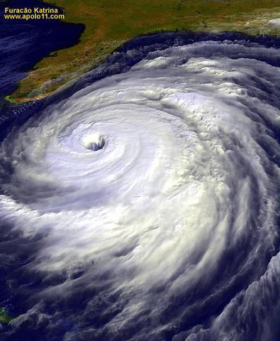 Destruição pelo Katrina