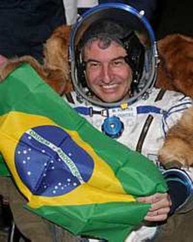 primeiro brasileiro a ir para o espaço