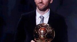Balones de oro de Lionel Messi timeline