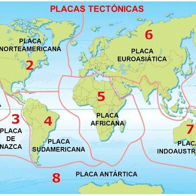 Placas tectonicas timeline