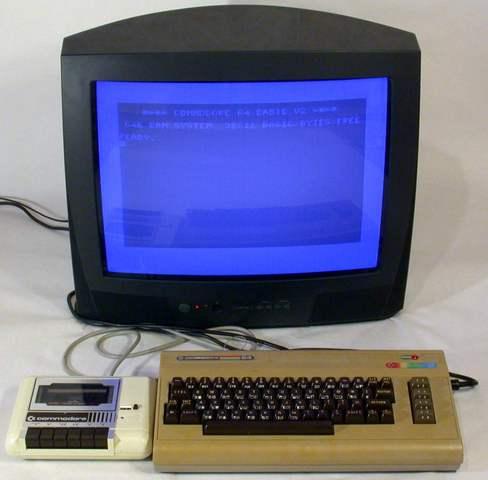 1983 Nuestra 1a computadora fue una Commodore 64