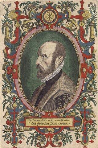El Cartógrafo Abraham Ortelius propone ideas vagas acerca de los supercontinentes