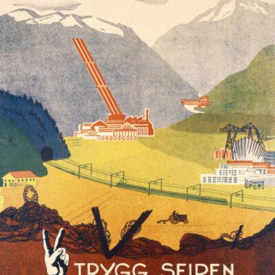 Etterkrigstiden i Norge timeline