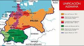 Proceso de unificación de los Estados Alemanes timeline