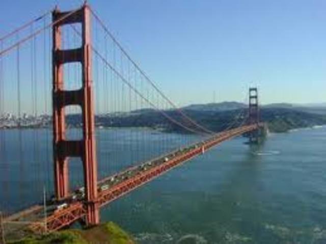 Golden Gate Bridge is Opened