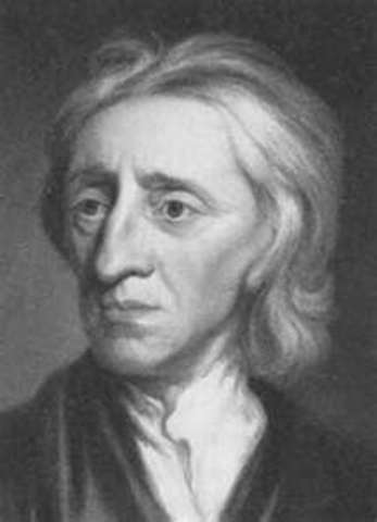 Locke's ideas about revolution against a government are linked to a plot to kill the king.