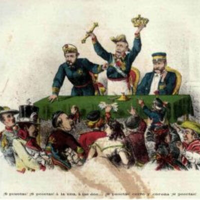 Sexenni revolucionari espanyol 1868-1874 timeline