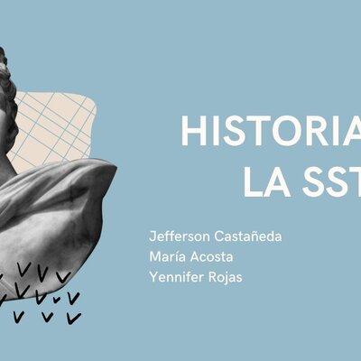 Historia de la SST (salud y seguridad del trabajo) Jefferson Castañeda, María Acosta y Yennifer Lozano. timeline