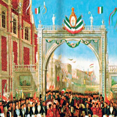 Primera mitad del siglo XIX en México timeline