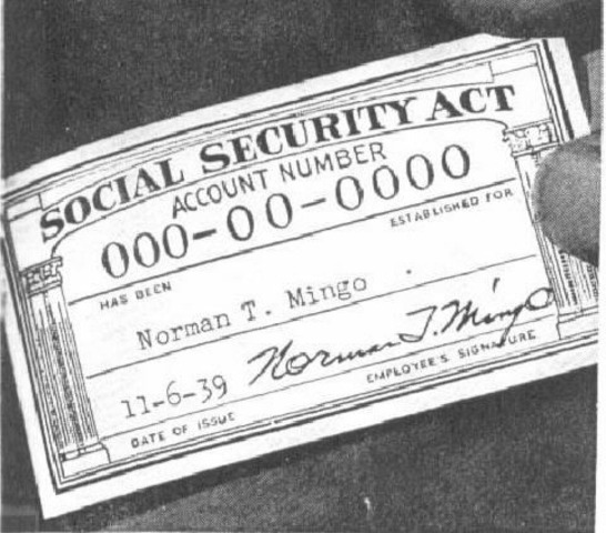 The Social Security Act is passed