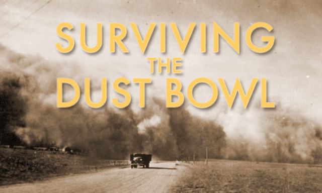 Dust bowl begins