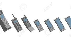 Evolucion del celular timeline