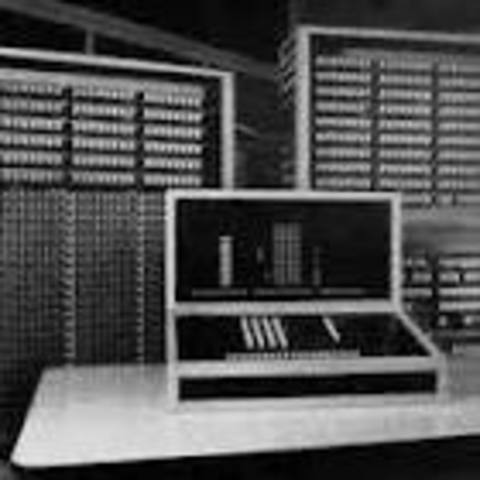 The first program controleld Electromechanical Digtal Computer