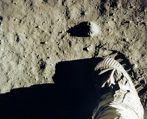 Primer hombre en la Luna... Yo lo ví en la transmisión por TV