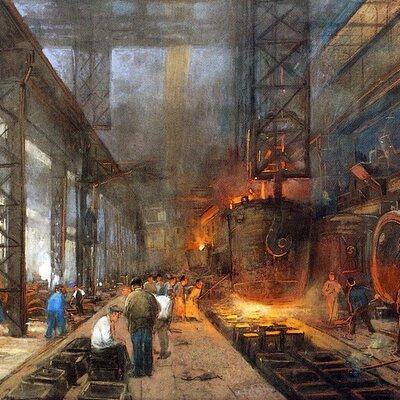 EJE CRONOLÓGICO UNIDAD 3: Las Revoluciones industriales.  timeline