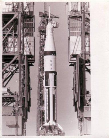 Primer vuelo pilotado del programa Apolo