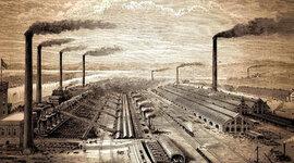 Eje cronológico Revolución Industrial timeline