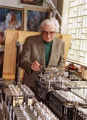 Helmut Schreyer inventa una memoria prototipo utilizando las lámparas de neón.