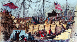 Boston Tea Party timeline
