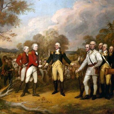 American Revolution Turning Point timeline