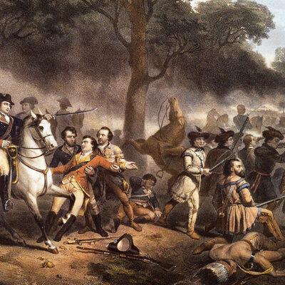 turning point timeline American Revolution