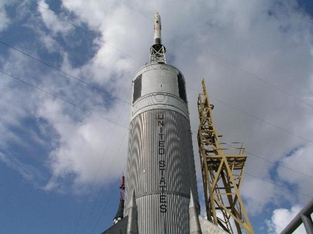 Visité el Space Center en Houston