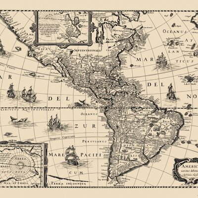 History of the Western Hemisphere timeline