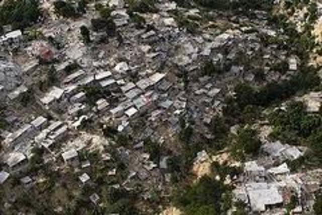 The Haiti earthquake stikes