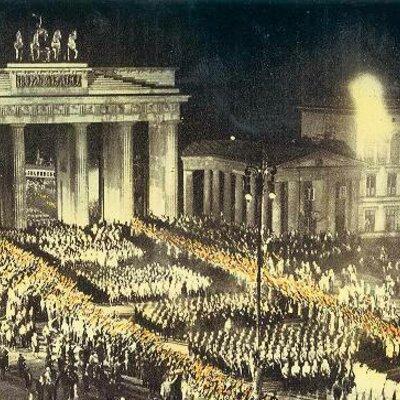 Der Untergang der Weimarer Republik 1930 - 1933 timeline