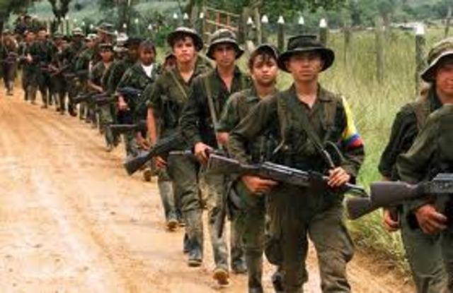 DEBILIDAD DE LAS FARC
