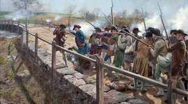 Battles of Lexington and Concord of 1755 timeline
