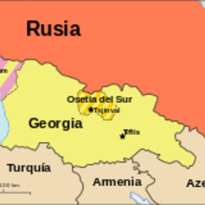 Rusia-Georgia timeline